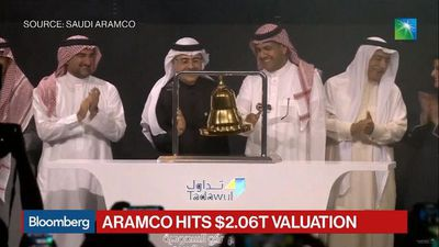 Aramco Hits $2.06 Trillion Valuation