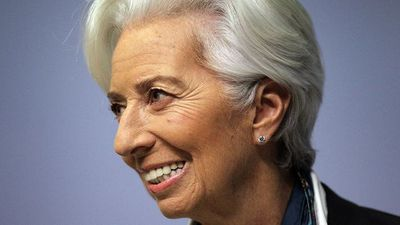 ECB's Lagarde Says Risks Tilted to Downside, But Less Pronounced
