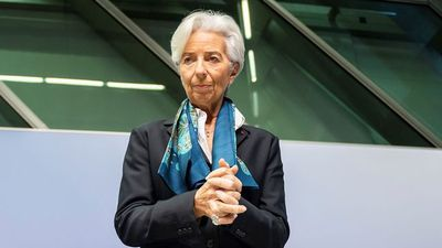 ECB's Lagarde Says There Are Some Signs of Economic Stabilization