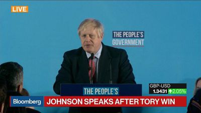 Johnson Pledges to Earn Continued Support of Voters