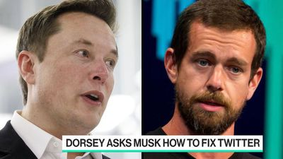 Musk Gives Dorsey Feedback on How to Fix Twitter
