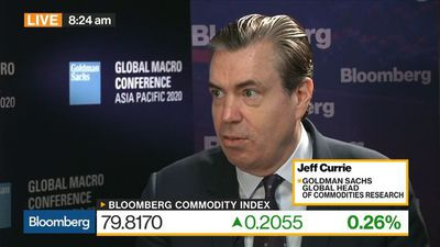 Why Goldman Sachs's Currie Is Bullish on Commodities in 2020