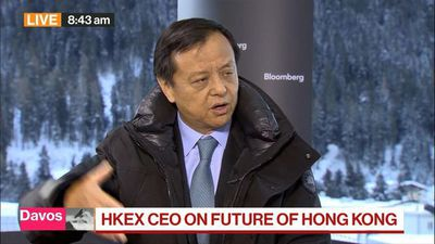 HKEX CEO Not 'Terribly Surprised' by Moody's Hong Kong Downgrade