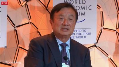 Huawei CEO in Davos: Impact of U.S. Curbs Won't Be Significant