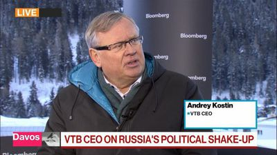 VTB CEO Kostin Expects No New Shares Issued Due to U.S. Sanctions