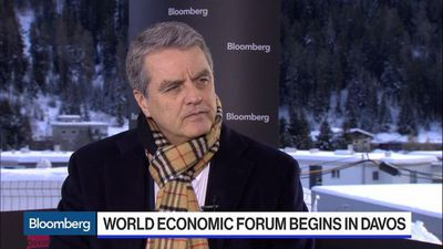 WTO's Azevedo Says First Impressions of Phase-One China Deal Are Good