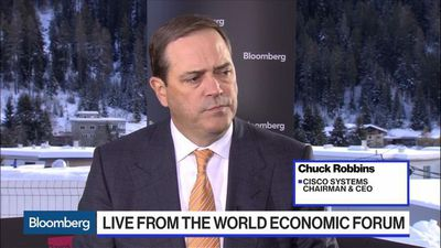 Cisco Saw a 'Shallow Pause' From China, Brexit Tensions: CEO Robbins