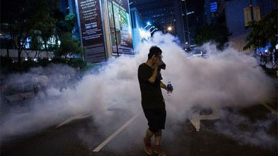 Hong Kong's Lam Says Police Are Not Above the Law