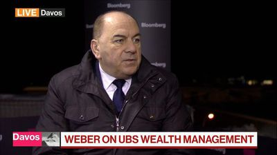 UBS's Weber Says Focus Is on Gaining U.S. Market Share