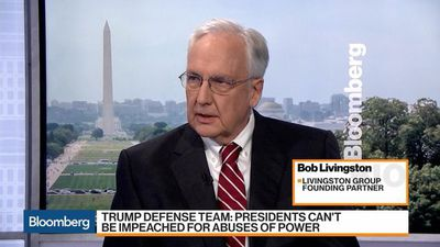 Abuse of Power Allegations Against Trump Are Baseless, Bob Livingston Says