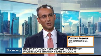 India's Growth Has Hit the Bottom, UTI International CEO Says