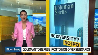 Goldman to Refuse IPOs to Non-Diverse Boards