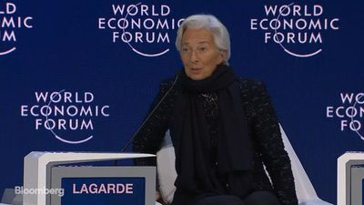 Lagarde Says Downside Risks Less Pronounced Due to Trade Deals