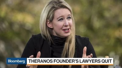 Theranos Founder Elizabeth Holmes Phones In Her Defense