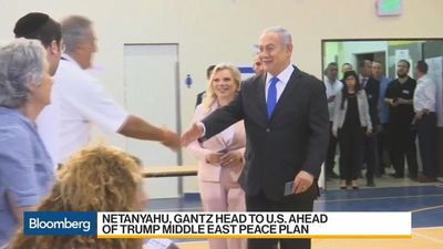 Netanyahu Says He Will 'Make History' With Trump in U.S. Visit