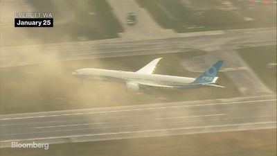 Boeing's 777X Takes First Flight