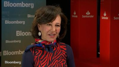 Santander's Botin on Capital Levels, Profitability, U.S. Growth