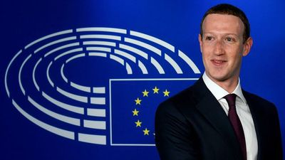 Facebook CEO Zuckerberg Meets EU Officials in Brussels