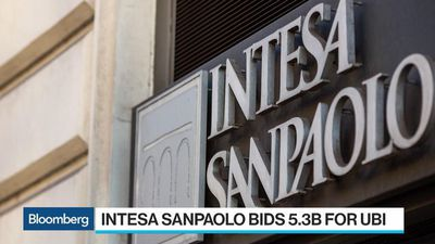 Intesa Sanpaolo Makes $5.3 Billion Bid for Rival UBI