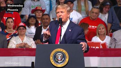 Trump Attacks Bloomberg and Sanders at Rally