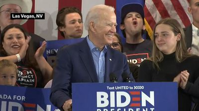 Biden: We're Alive and Coming Back