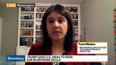 U.S.-India Defense Deals to Be 'a Win' for Trump: Brookings Institution