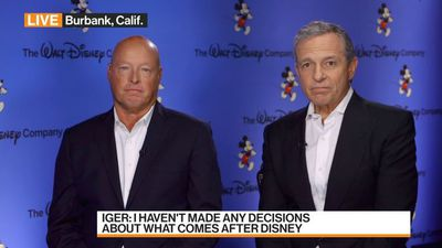 Disney's Iger, Chapek Discuss Management Change, Strategy