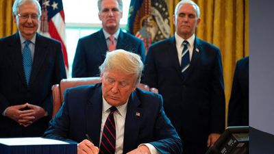 Trump Signs Historic $2 Trillion Virus Relief Package Into Law