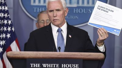 Pence Says U.S. Economy Will Recover From Virus Crisis and Testing Is Increasing