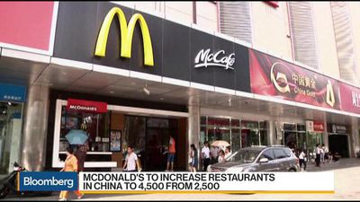 McDonald's Asia Chairman Sees Room to Grow in China