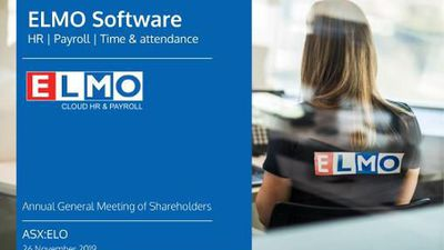 ELMO Software Limited Annual General Meeting 2019
