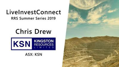 Live Invest Connect - Kingston Resources Limited - Chris Drew