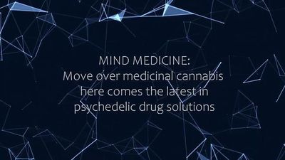Mind Medicine Australia: Psychedelics to treat mental health disorders