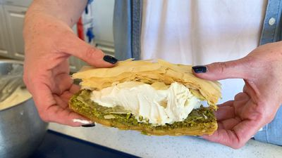 Booza baklava is the ultimate ice-cream sandwich