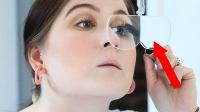 Can these portable magnifying glasses make applying makeup easier?