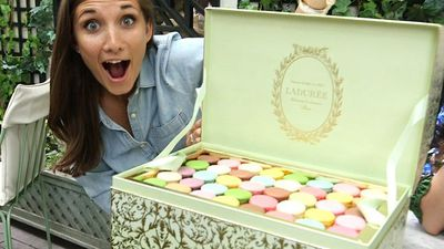 This $900 chest is filled with 200 Ladurée macarons