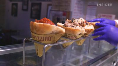 Why this pizza cone is Rome's favorite street eat