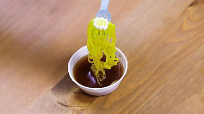 This miniature ramen is actually candy