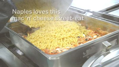 Naples loves this mac 'n' cheese street-eat
