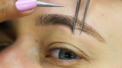 We got $195 eyebrow extensions for the first time