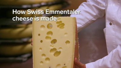 Emmentaler is the world's largest and most copied cheese cheese — Here's how it's made.