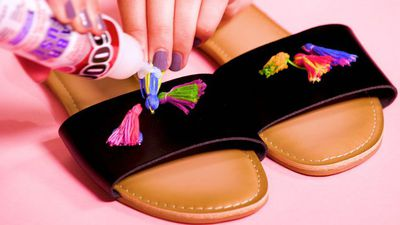 3 DIY ways to spruce up your sandals for under $25