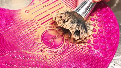 What's the best way to clean your makeup brushes?