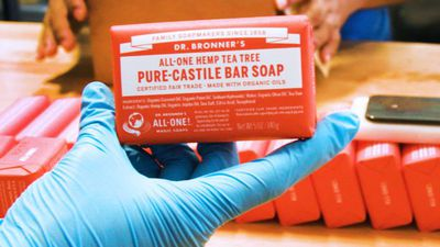 How Dr. Bronner's soap is made | The Making Of