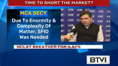 NCLAT breather for IL&FS