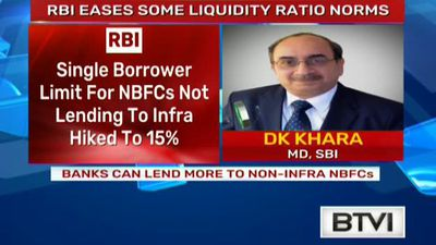 RBI Allows Banks To Lend More To Some NBFC's