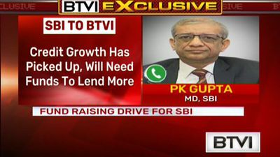 Fund Raising Drive For SBI, Approves Rs 20,000 Cr In FY19