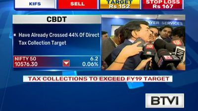 CBDT Net Direct growth rate at 14.5%