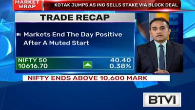 Markets end the day positive after a muted start