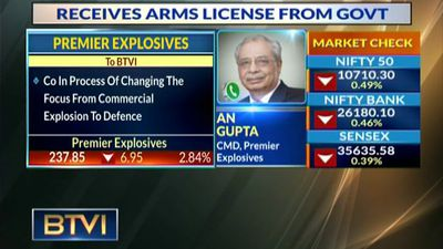 Premier Explosives receives arms license from government